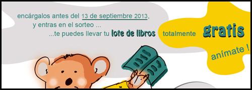 'SORTEO SEMURET · LIBROS DE TEXTO'  Lleváte un lote de libros de texto gratis!