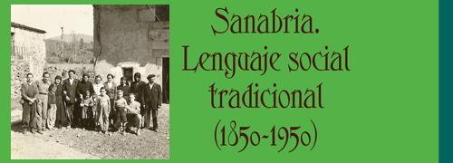 """Sanabria. Lenguaje social tradicional (1850 – 1950)"" de Juan Manuel Rodriguez Iglesias"
