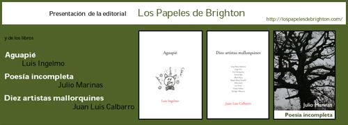 Presentación Editorial 'Los papeles de Brighton'
