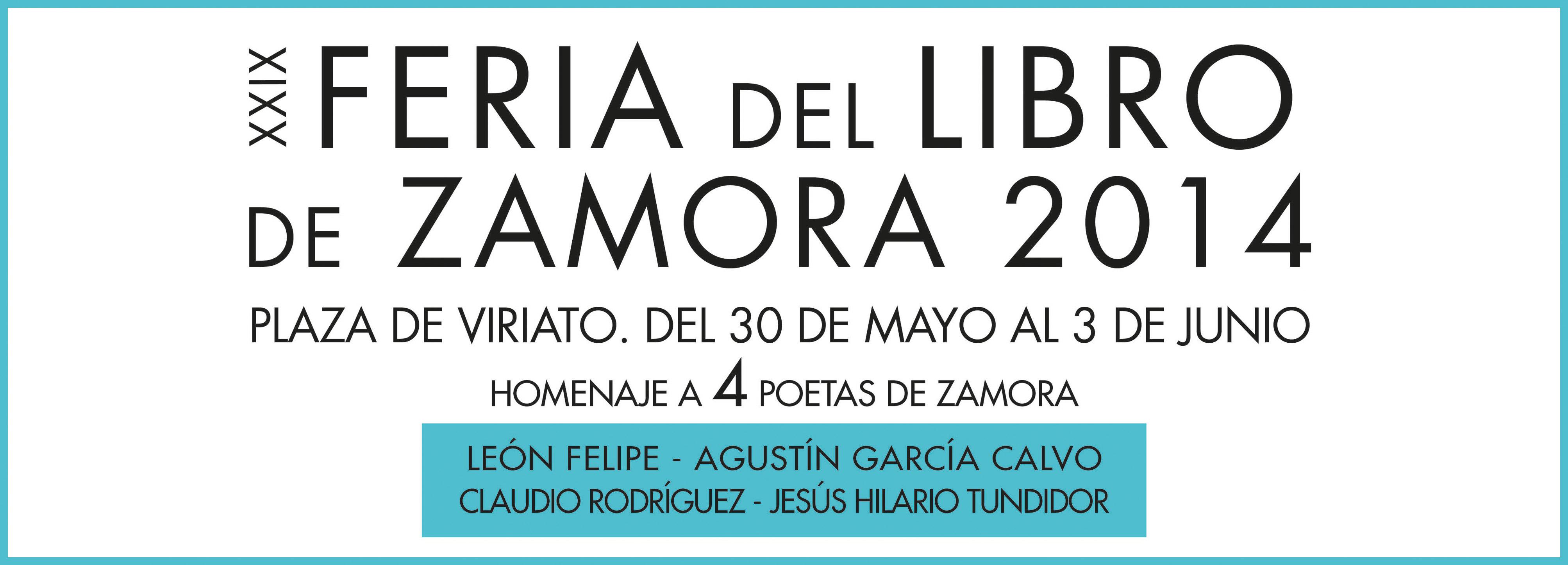 Feria del Libro 2014 en Zamora