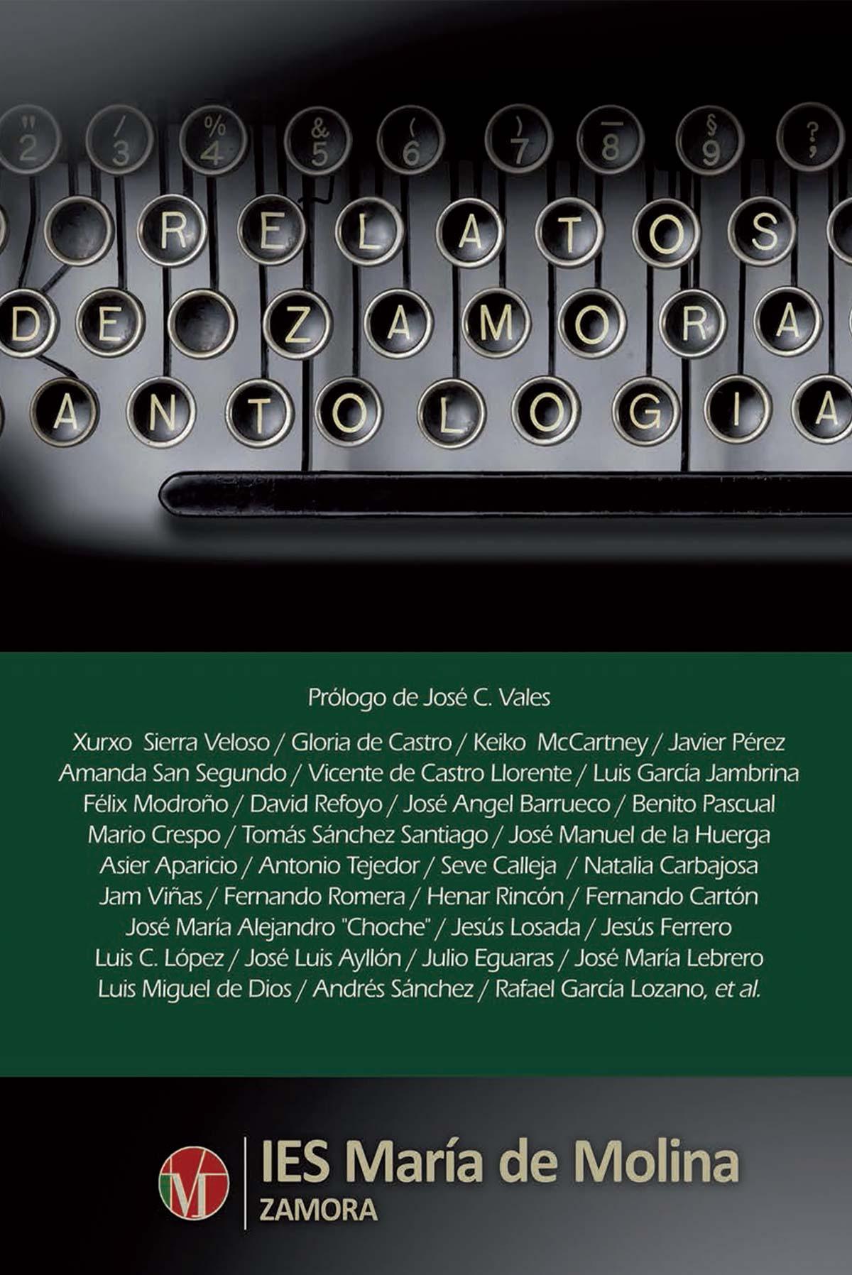 Relatos de Zamora Antología IES María de Molina Libreria Editorial Semuret