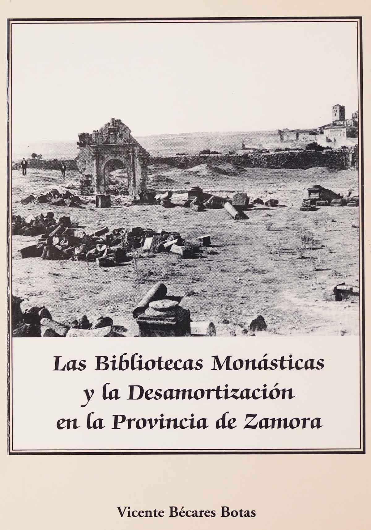 bibliotecas-monasticas-desamortizacion-vicente-becares-botas-editorial-semuret