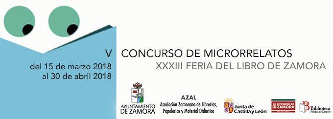 Concurso de Microrrelatos. Feria del libro 2018 Zamora