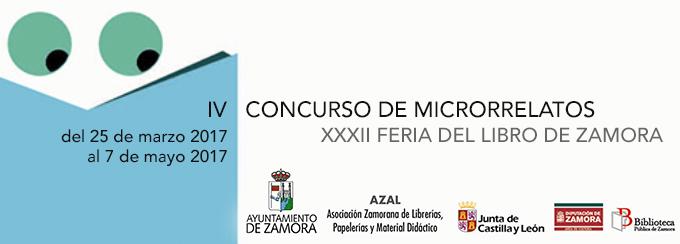 IV concurso de microrrelatos Feria del Libro Zamora 2017 Libreria Semuret