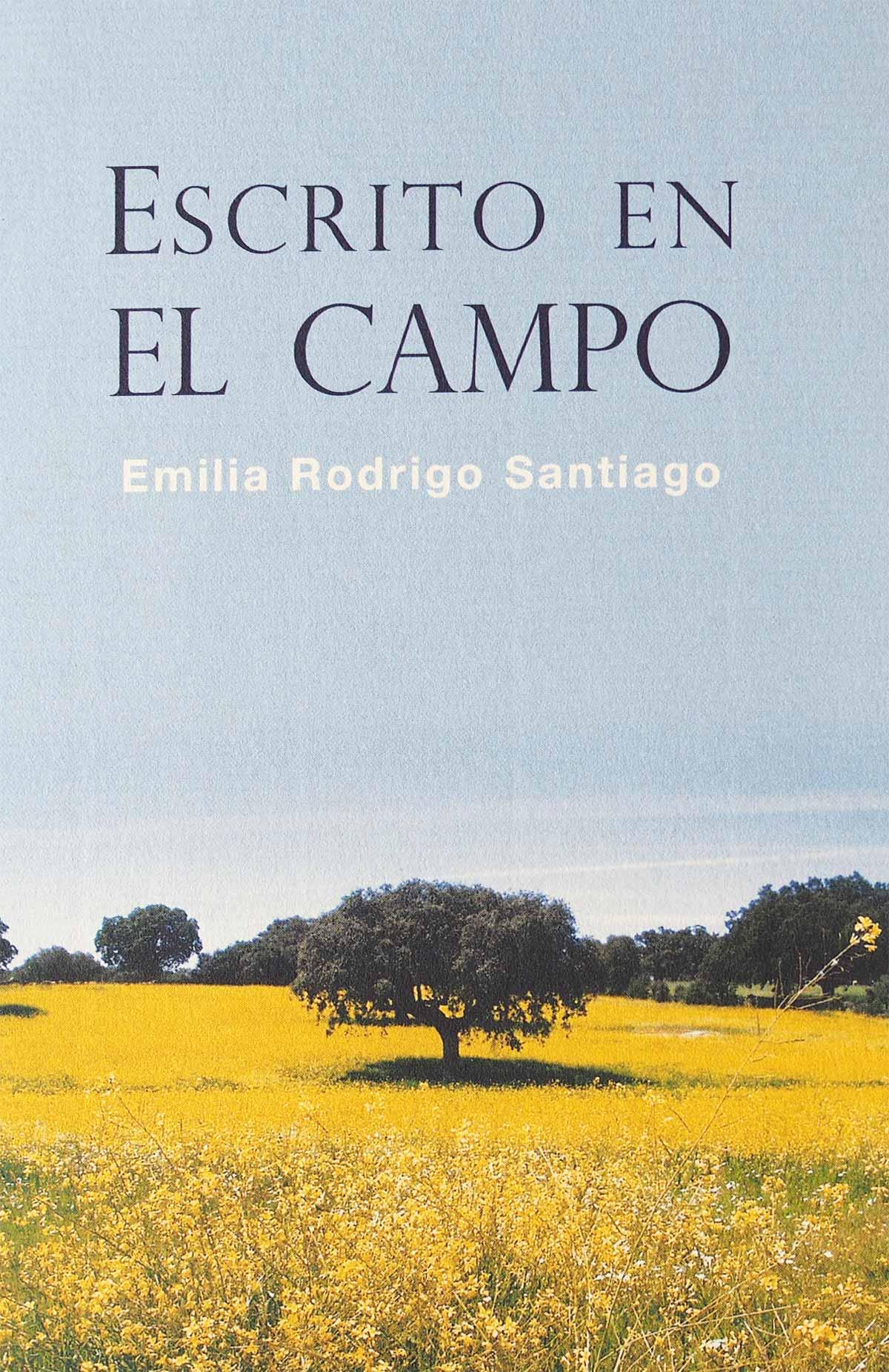 Escrito en el campo Emilia Rodríguez Santiago Editorial Semuret