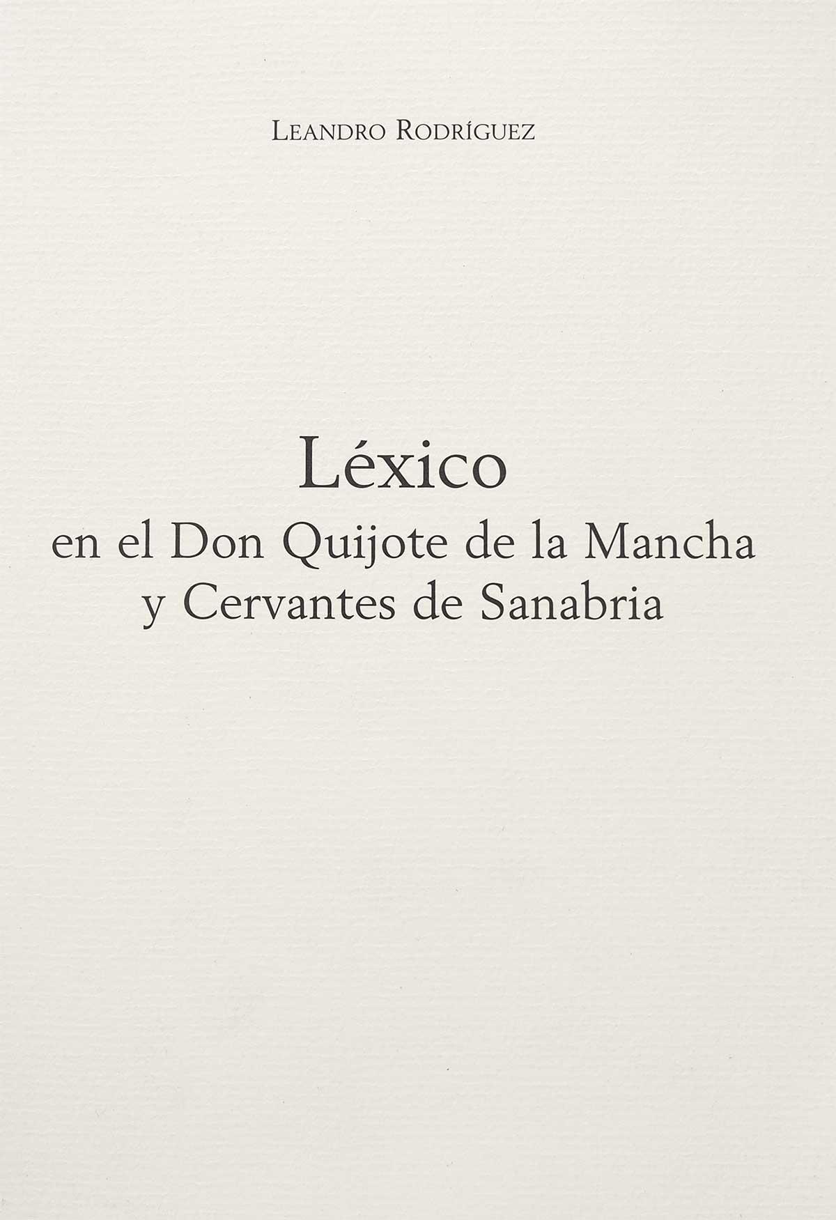 lexico-don-quijote-mancha-cervantes-sanabria-leandro-rodriguez-editorial-semuret