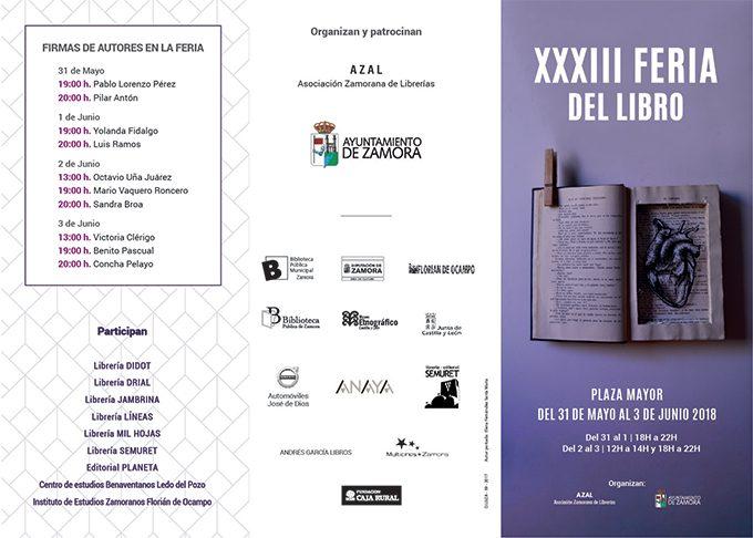 XXXIII Feria del libro de Zamora 2018