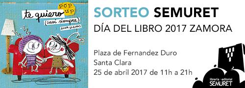 'SORTEO SEMURET · DÍA DEL LIBRO 2017': Te quiero (casi siempre) deAnnaLlenas