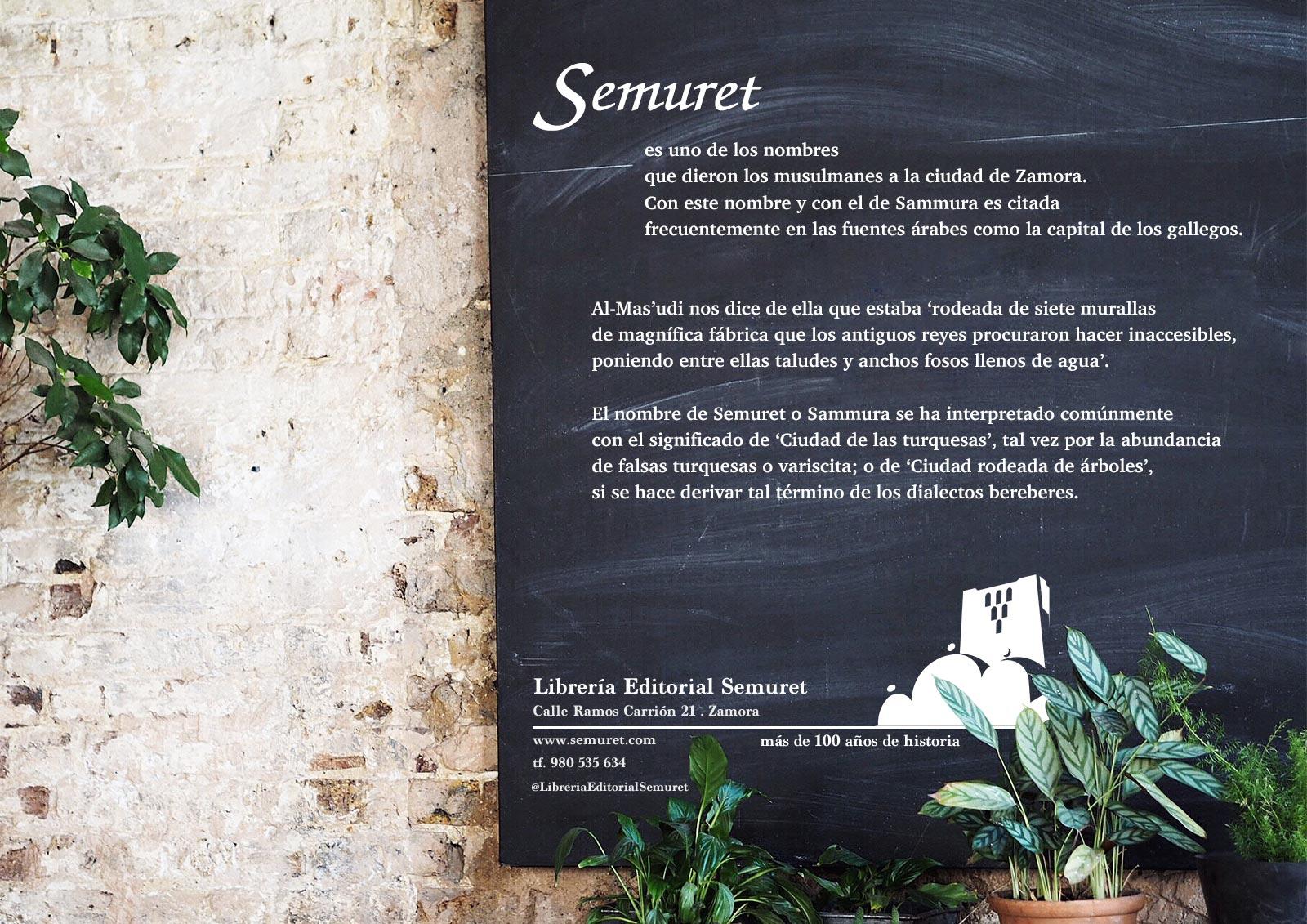Cartel Libreria Semuret Zamora dia feria libro HenkaWebs Henka Arquitectos