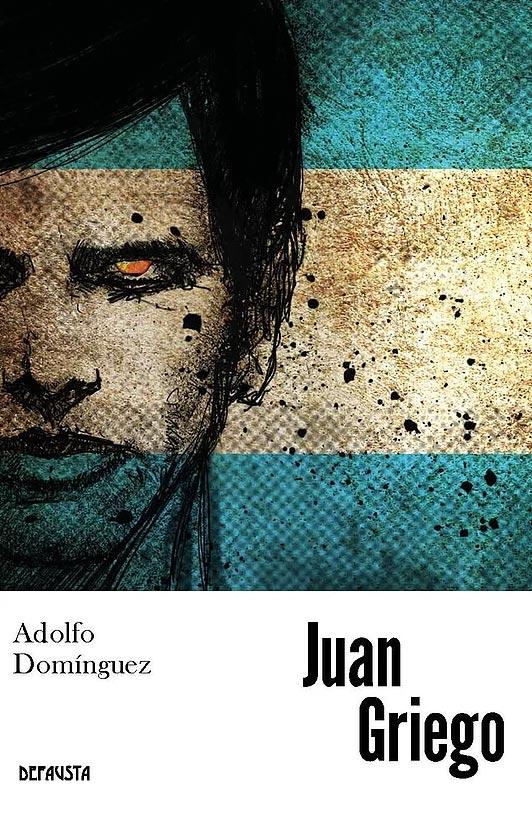 libro Juan Griego portada Adolfo Dominguez