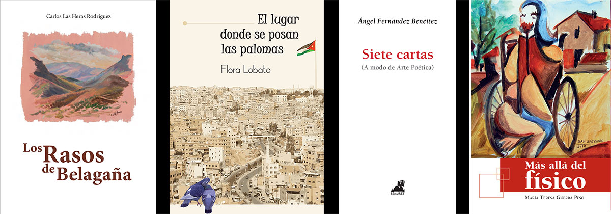 Novedades novela, poesía, ensayo por Editorial Semuret