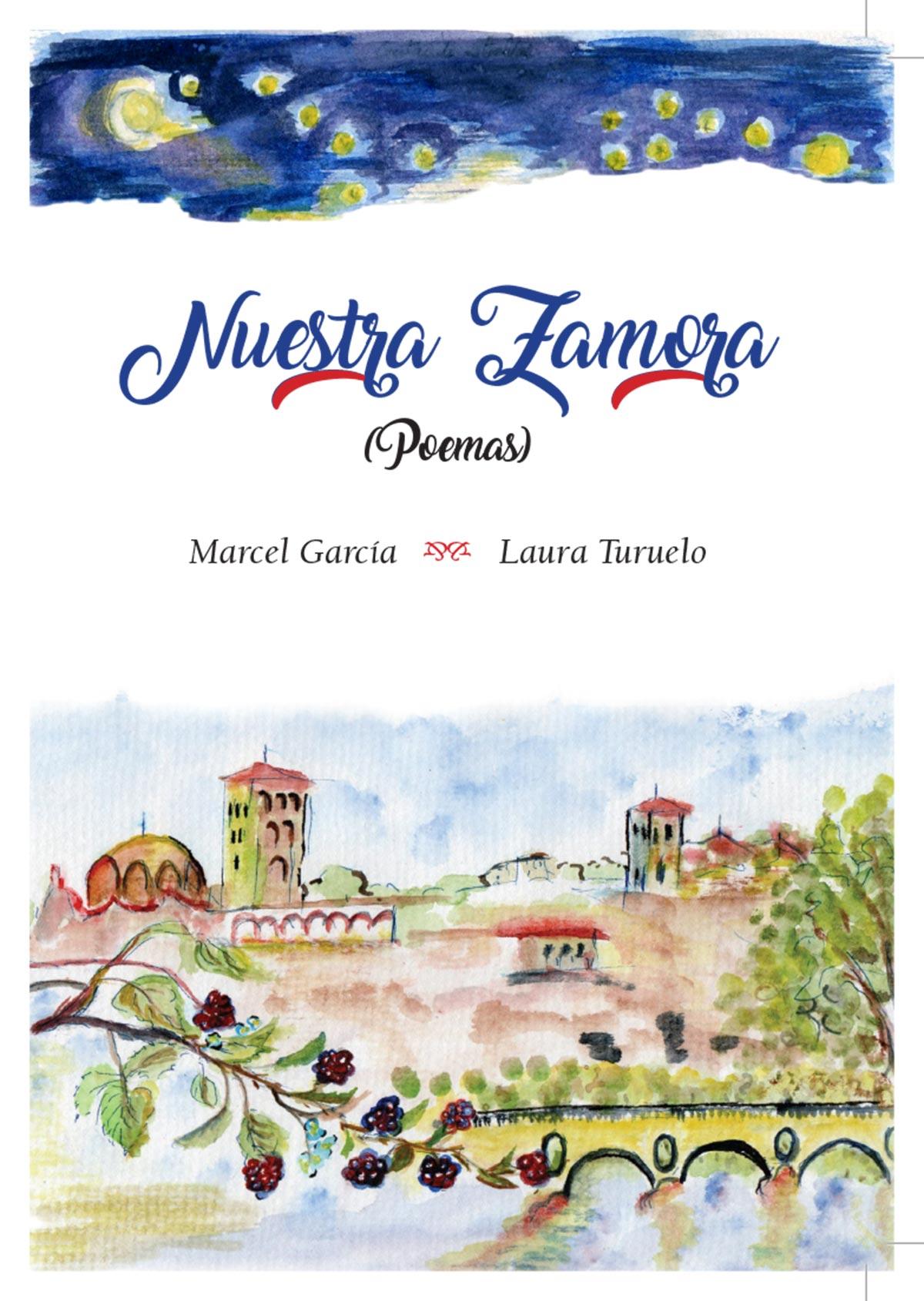 Nuestra Zamora Poemas Marcel García Laura Turuelo portada Editorial Semuret