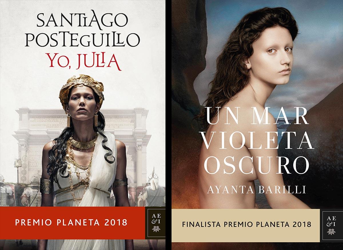 "Premio Planeta 2018 ""Yo Julia"" & ""Un mar violeta oscuro"""