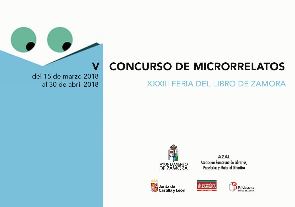 concurso microrelatos feria libro 2018 Zamora