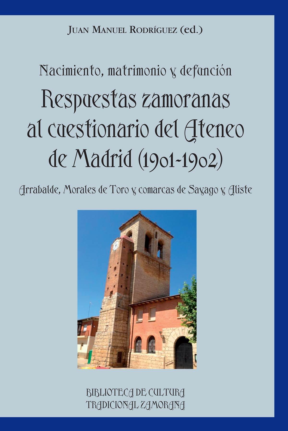 Respuestas Zambianas al cuestionario del Ateneo de Madrid 1901-1902 librería Semuret